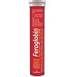 Maisto papildas Feroglobin Fizz tirpiosios tabletės N20
