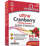 Maisto papildas Ultra Cranberry tabletės N30