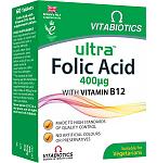 Maisto papildas Ultra Folic Acid tabletės N60