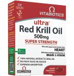 Ultra Red Krill Oil kapsulės N30