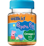 WellKid Peppa Pig Omega - 3 guminukai N30