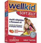 Maisto papildas WellKid želatininės pastilės N30
