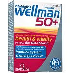 Maisto papildas Wellman 50+ tabletės N30