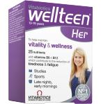 Maisto papildas WellTeen Her tabletės N30