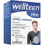 Maisto papildas WellTeen Him tabletės N30
