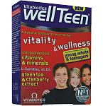 Maisto papildas WellTeen tabletės N30