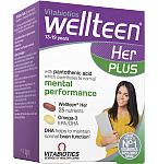 Maisto papildas Wellteen Plus Her kapsulės/tabletės N28+28