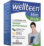 Maisto papildas Wellteen Plus Him kapsulės/tabletės N28+28