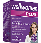 Wellwoman Plus kapsulės ir tabletės N28+28