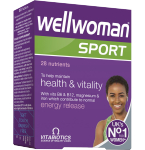Maisto papildas Wellwoman Sport tabletės N30