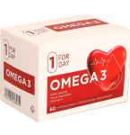Maisto papildas Forday Omega 3 kapsulės N60