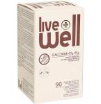 Maisto papildas LIVE WELL CALCIUM+D3+K2 kapsulės N90