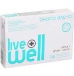 Maisto papildas LIVE WELL CHOCO BACTO šokoladinės tabletės N16