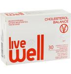 Maisto papildas LIVE WELL CHOLESTEROL BALANCE kapsulės N30