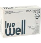 Maisto papildas LIVE WELL COENZYM Q10 kapsulės N30