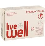 Maisto papildas LIVE WELL Energy Plus minkštosios kapsulės N30