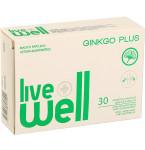 Maisto papildas LIVE WELL Ginkgo Plus minkštosios kapsulės N30