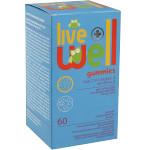 Maisto papildas LIVE WELL Gummies Multivitamins&Minerals guminukai N60
