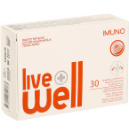 Maisto papildas LIVE WELL IMUNO kapsulės N30