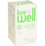 Maisto papildas LIVE WELL Lecithin + ginkgo biloba kapsulės N90