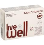 Maisto papildas LIVE WELL LIVER COMPLEX kapsulės N30