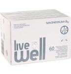 Maisto papildas LIVE WELL MAGNESIUM + B6 kapsulės N60
