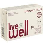 Maisto papildas LIVE WELL MEMORY PLUS kapsulės N30