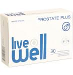 Maisto papildas LIVE WELL Prostate Plus minkštosios kapsulės N30