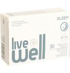 Maisto papildas LIVE WELL SLEEP kapsulės N30