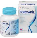 Maisto papildas Forcapil kapsulės N60
