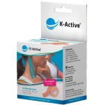 Kineziologinis teipas K - Active Classic 5cmx5m (kūno spalvos)