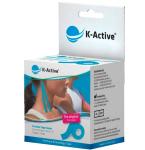 Kineziologinis teipas K - Active Classic 5cmx5m (mėlynas)