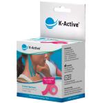 Kineziologinis teipas K - Active Classic 5cmx5m (rausvas)