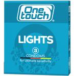 Prezervatyvai One Touch Lights N3