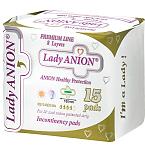 Lady Anion Active kasdieniniai įklotai 180mm N15