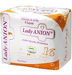 Lady Anion Day Liner kasdieniniai įklotai 180mm N16