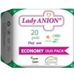 Lady Anion dieniniai paketai su anijonų juostele 240mm N20