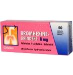 Bromhexine - Grindeks 8mg tabletės N50