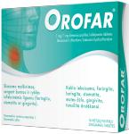 Orofar 1mg/1mg kietosios pastilės N16