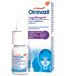 Otrinazil 1mg/50mg/ml nosies purškalas (tirpalas) 10ml