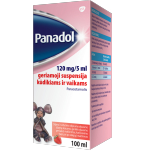 Panadol 120mg/5ml geriamoji suspensija 100ml