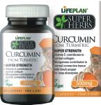 Maisto papildas Curcuminas 500mg kapsulės N60 Lifeplan Super Herbs