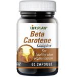 Maisto papildas Beta Carotene Complex kapsulės N60 Lifeplan