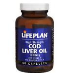 Maisto papildas Cod Liver Oil Lifeplan 550mg kapsulės N60