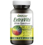 Maisto papildas Extravits tabletės N90 Lifeplan