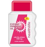 Nakvišų aliejus Evening Primrose Oil 1g kapsulės N90