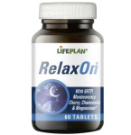 Maisto papildas RelaxOn tabletės N60 Lifeplan