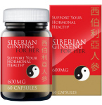 Maisto papildas Siberian Ginseng for her kapsulės N60