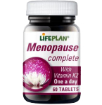 Menopause Complete tabletės N60 Lifeplan