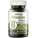 Vitamin B Complex Mega Potenzy Lifeplan tabletės N60